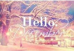 Hello december #hellodecemberwallpaper