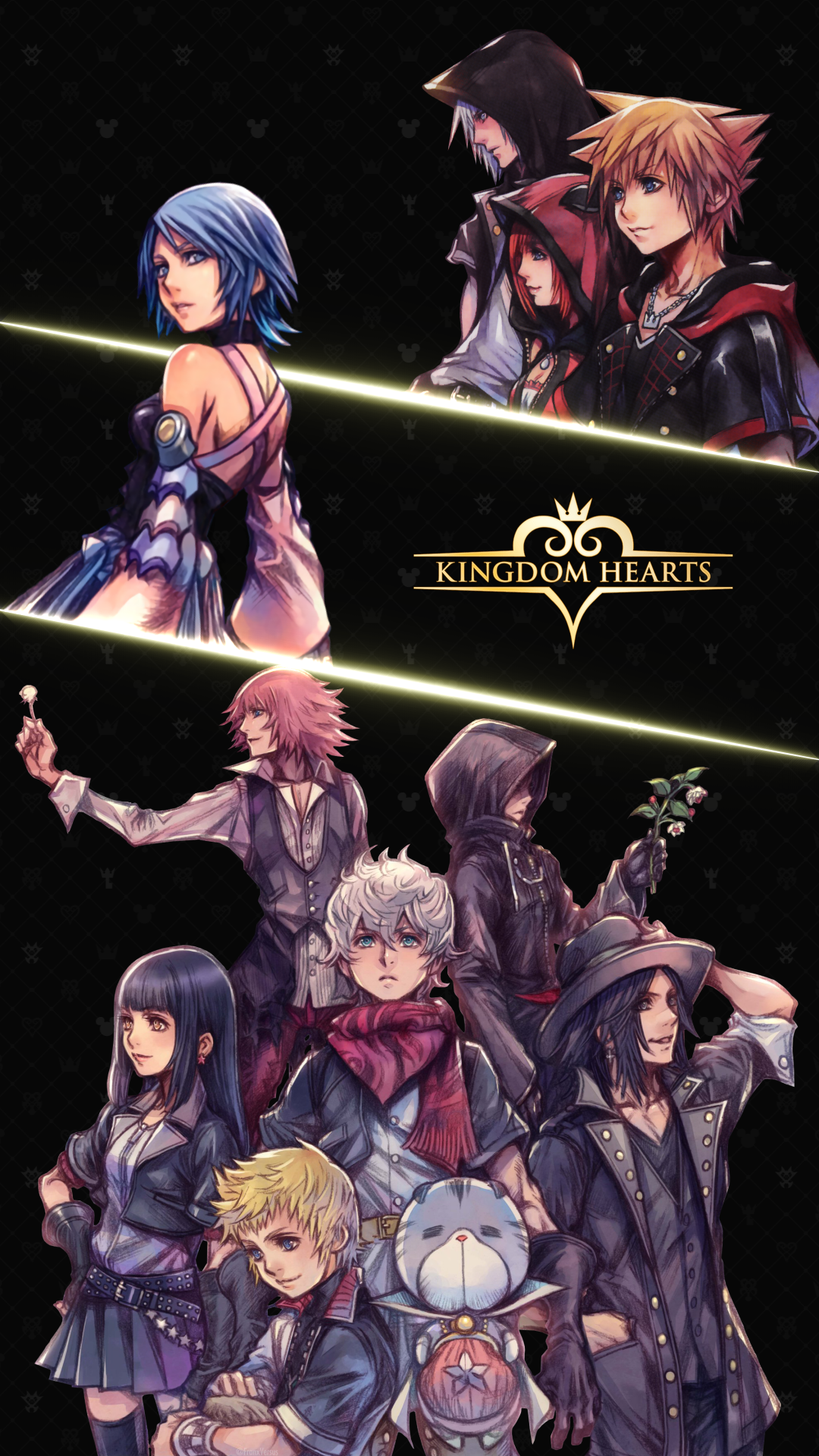 Kingdom Hearts Mobile Wallpaper Kingdom Hearts Wallpaper Kingdom Hearts Kingdom Hearts Fanart