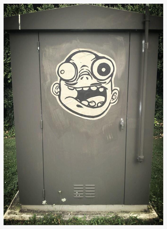 #collage #streetart #noir #blancs #personnage