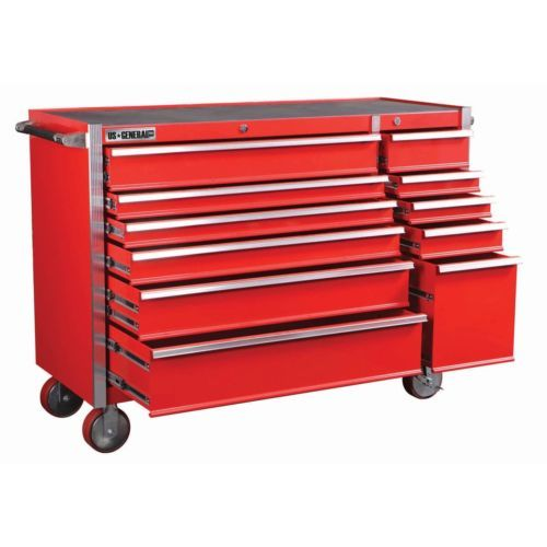 """harbor freight us general pro 56"""" tool box chest roller cabinet ..."""