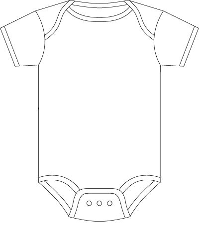 Image from    wwwshopbuyorg static category original baby - onesie template