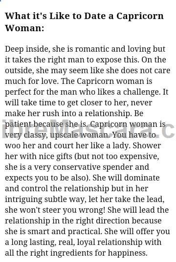 Dating a Capricorn woman #lingerie #gifts #forher #her #valentines #valentinesday #ladies #female #outfit #morning #ideas #dressingup #erotic #valentinegift