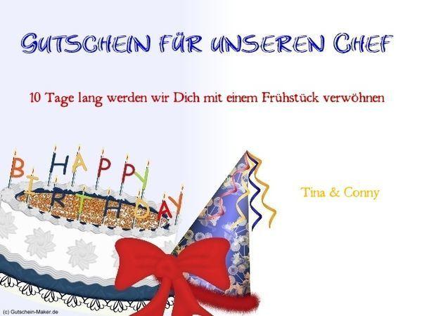Geburtstagswünsche für den Chef, Geburtstagsgrüße Chefin