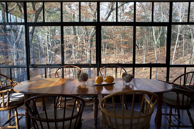 an artist's home in connecticut