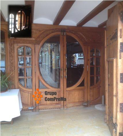 Presupuestos decoraci n puertas de entrada en maderas for Presupuesto puertas de madera