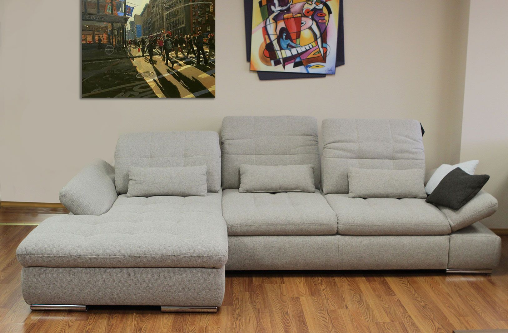 Alpine Sectional Sofa : Sleeper with Storage (With images ...