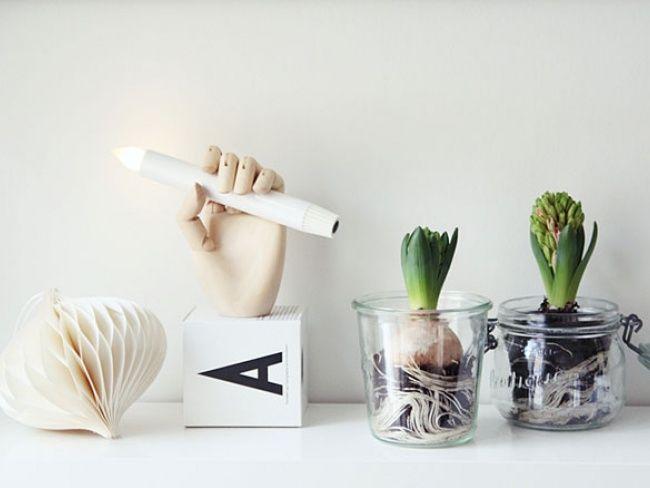 diy les jacinthes r cup chic a faire soi m me pinterest. Black Bedroom Furniture Sets. Home Design Ideas