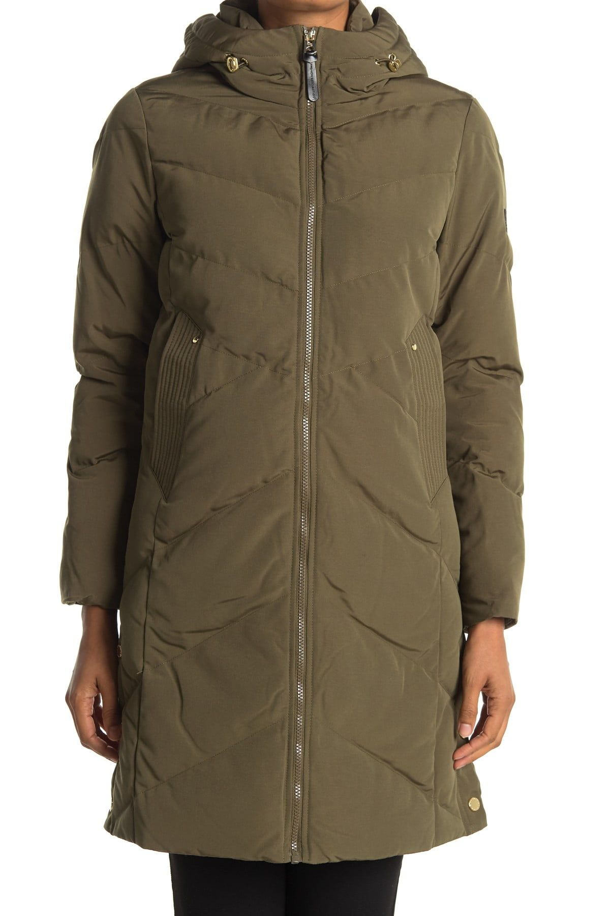 French Connection Hooded Long Puffer Jacket Nordstrom Rack Puffer Jackets Quilted Puffer Jacket Jackets [ 1800 x 1200 Pixel ]