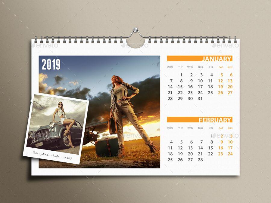 3 In 1 Customizable Calendar 2019 Bundle V02 Ad Bundle Spon