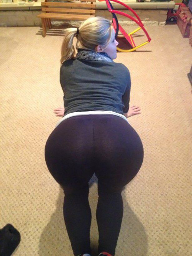 Hot Teen Ass In Leggings