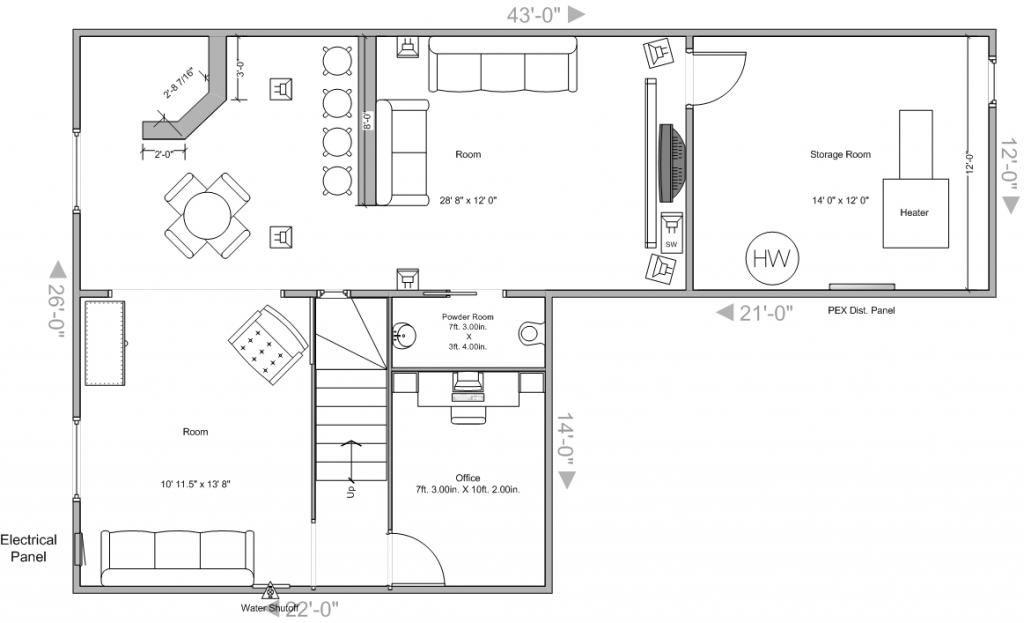 Basement Plans Need Thoughts Ideas Suggestions Avs Forum Basement Layout Basement Design Small Basement Design