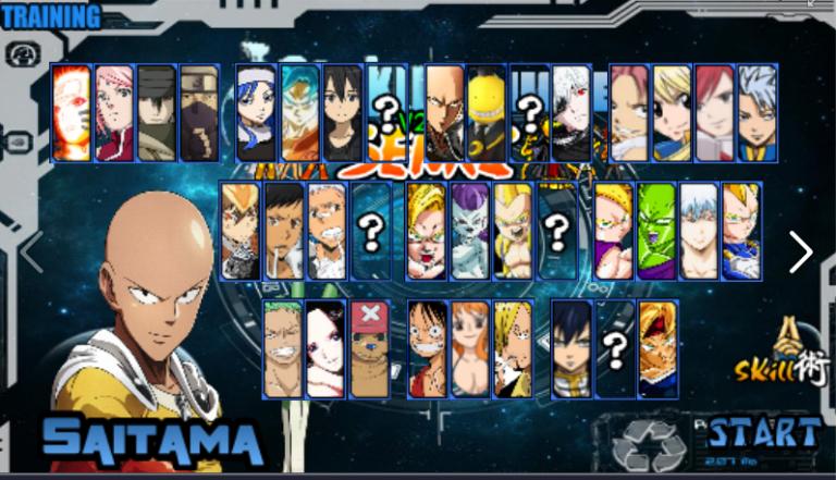 download Naruto Senki Mod Saitama Sensei terbaru Naruto