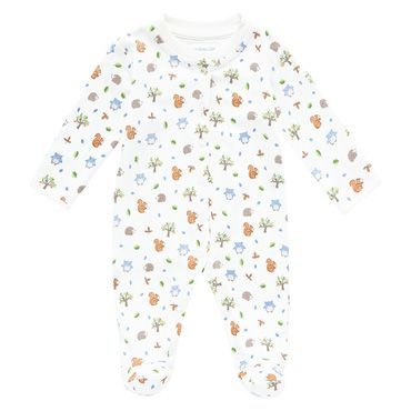 Woodland Baby Sleepsuit, Baby Sleepsuits and Bodies, Baby Clothes
