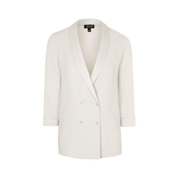 TopShop Soft Tailored Blazer ($100) ❤ liked on Polyvore