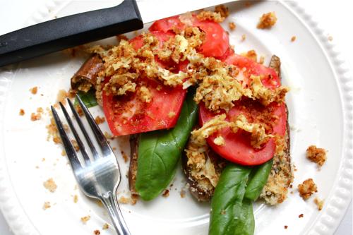 One-of-a-Kind, Crunchy Eggplant Salad