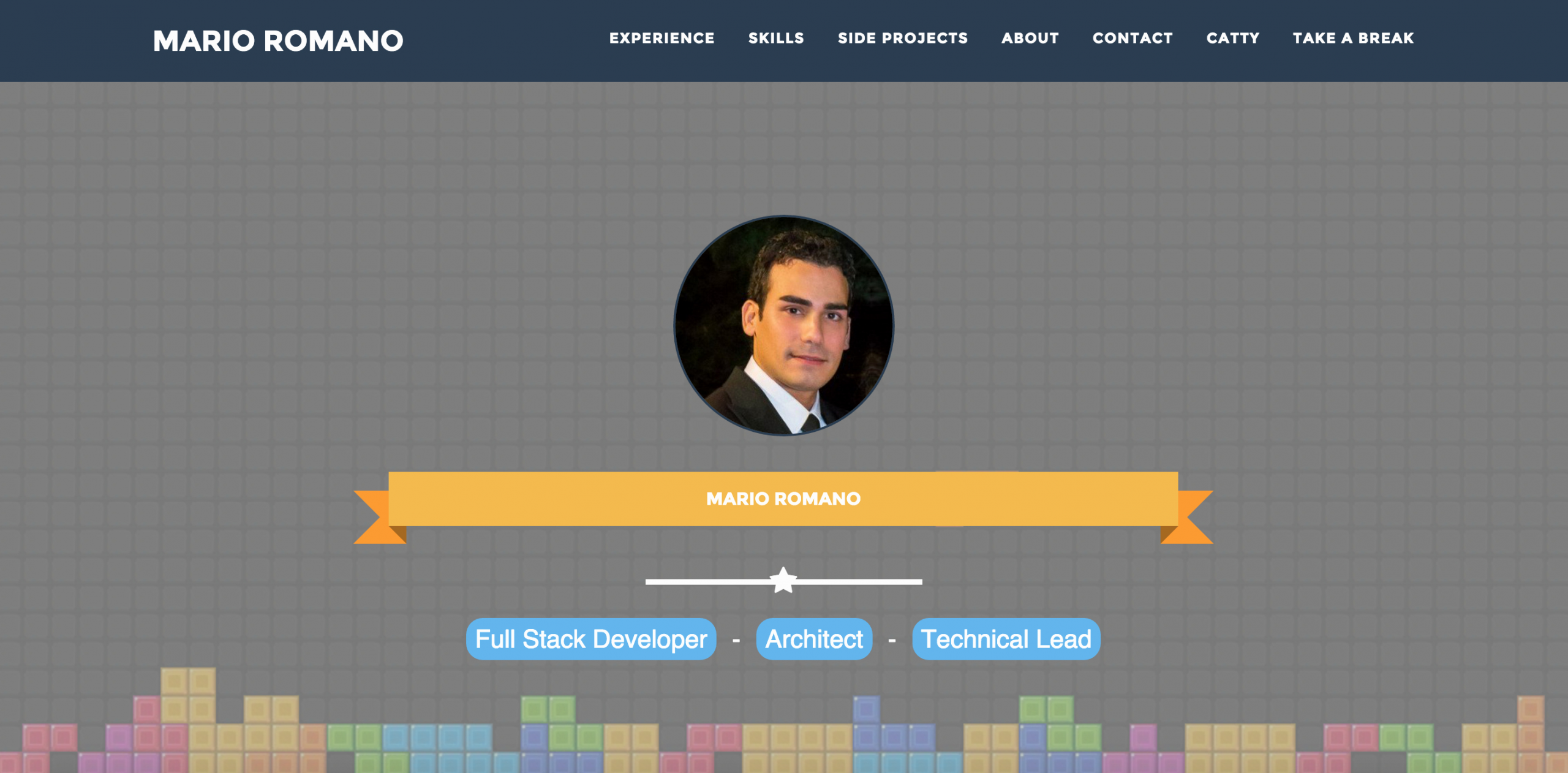 Full Stack Java Developer Resume Beautiful Mario Romano Resume Cv Portfolio