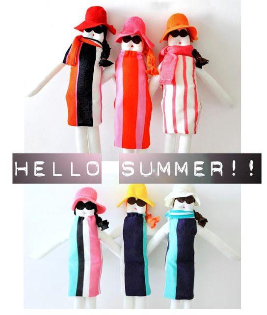 Knuffels à la carte blog: Hello summer!