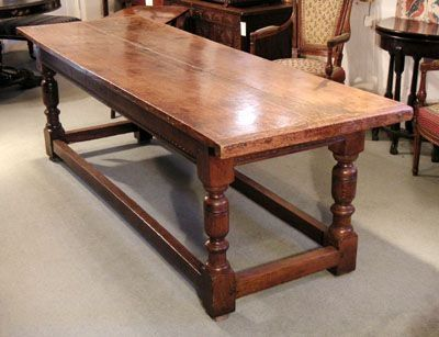 table, oak, refectory