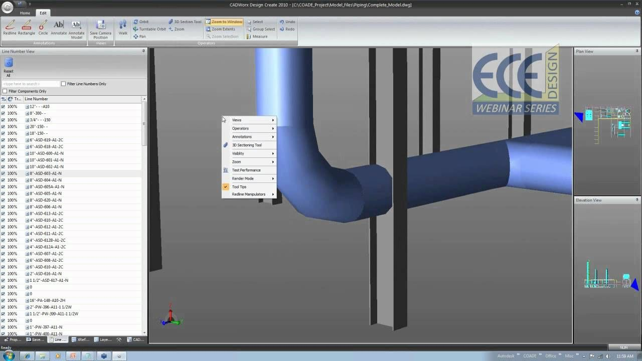 CADWorx Design Review: A Complete 3D Review Package for