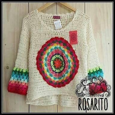 Resultado de imagen para rosarito crochet | Vestuário | Pinterest