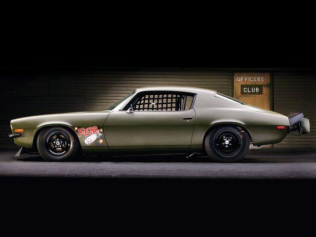 1970 F Bomb Camaro 406 Ci V8 Engine With Twin Turbochargers