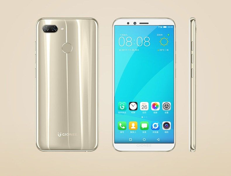 Version Global Gionee S11 Lite 4g Smartphone Android 7 1