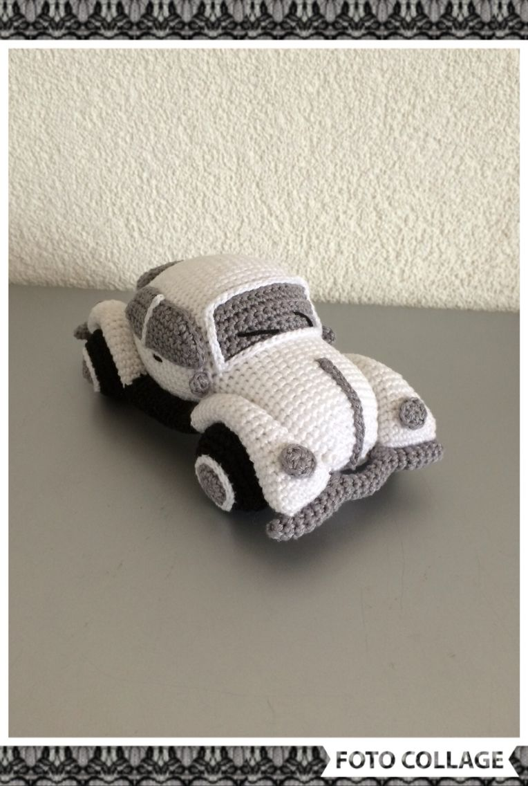 Amigurumi Vw Beetle Volkswagen Inspired Vw Bug Car Crochet Pattern