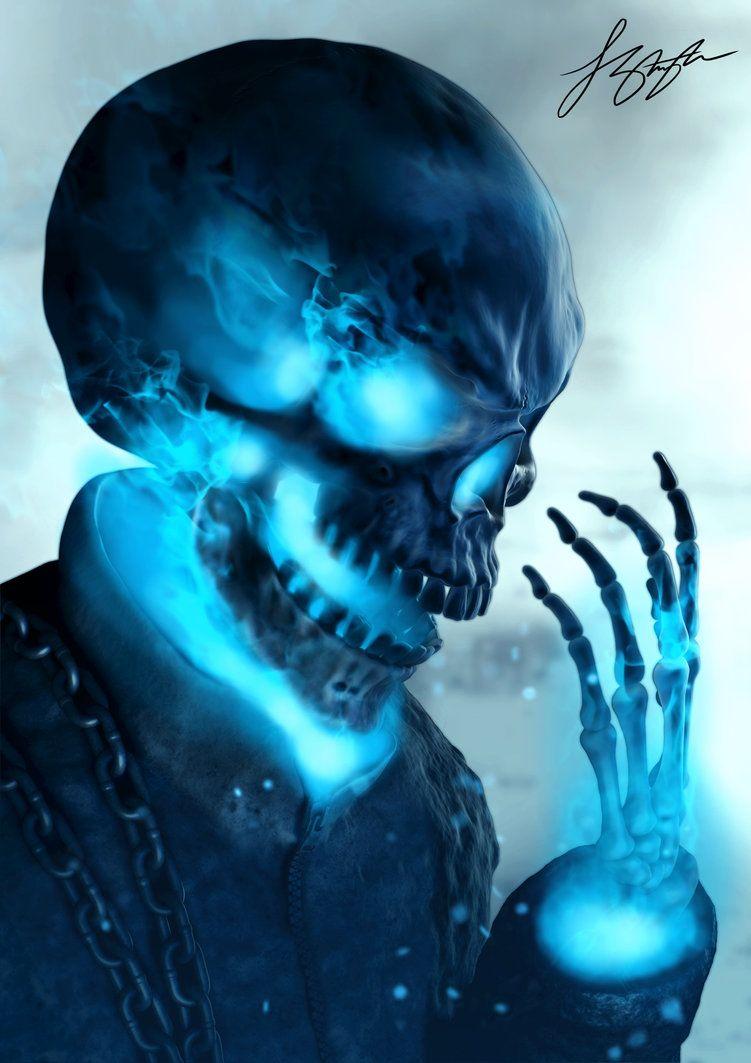 Spirit of Vengeance by liquid-venom | Skull pictures ...