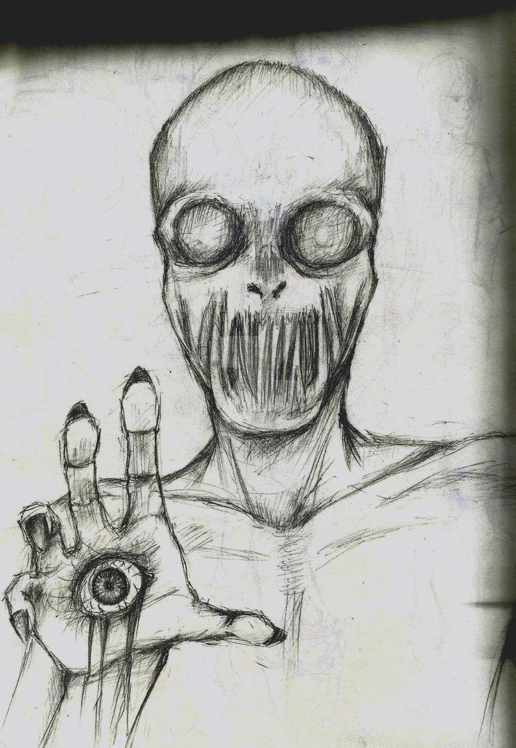Creepy Sketch Thing by forbiddenepics on DeviantArt