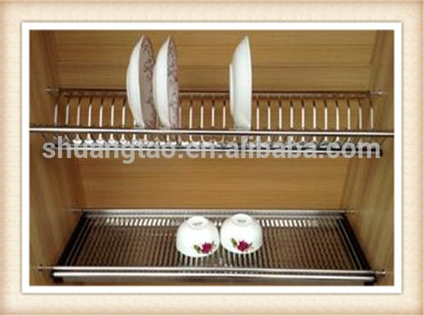 Wall Mounted Dish Drying Rack/kitchen Cabinet Dish Rack Ss201/304 ...