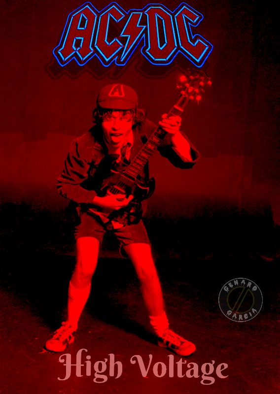 Ac/dc High Voltage : ac/dc, voltage, AC/DC, Voltage, Angus, Young,, Bands,, Bands