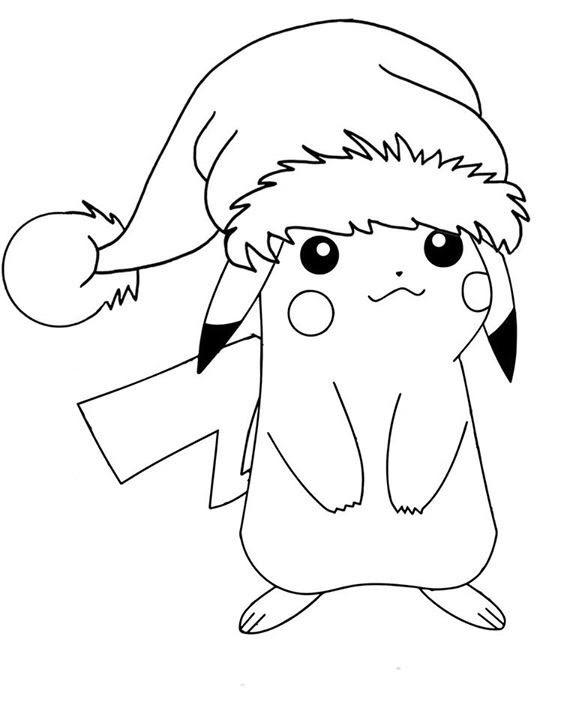 Pikachu Natal สม ดระบายส สน ปป ภาพวาด