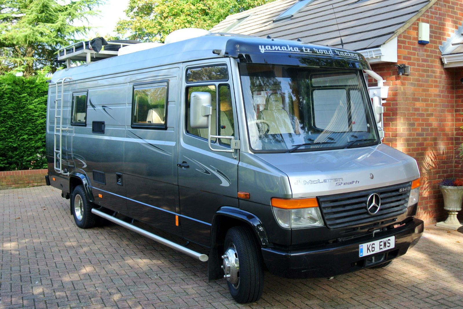 Mercedes benz motorhome campervan vario in cars for Mercedes benz recreational vehicles