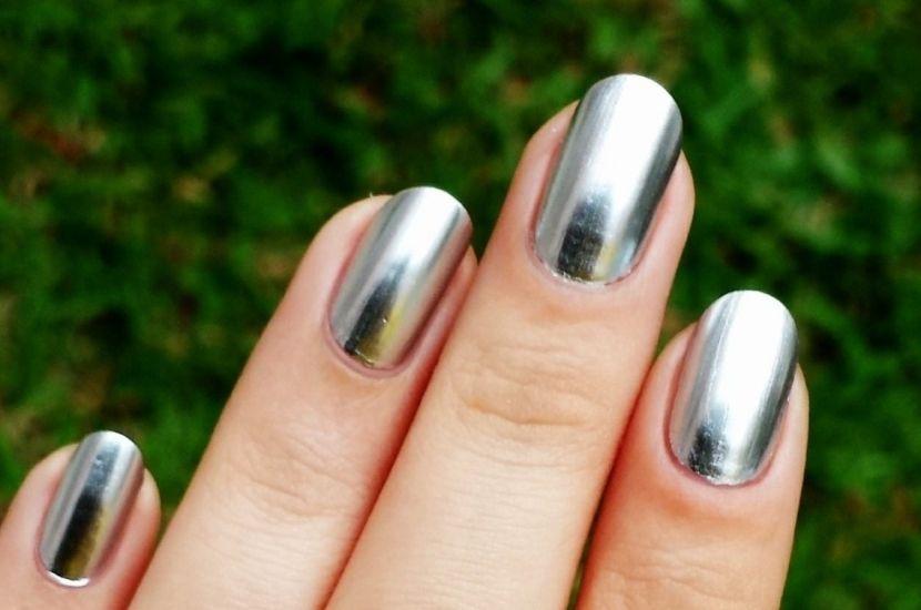 Manicura 2017 - Uñas efecto espejo y su gran tendencia Manicure - uas efecto espejo