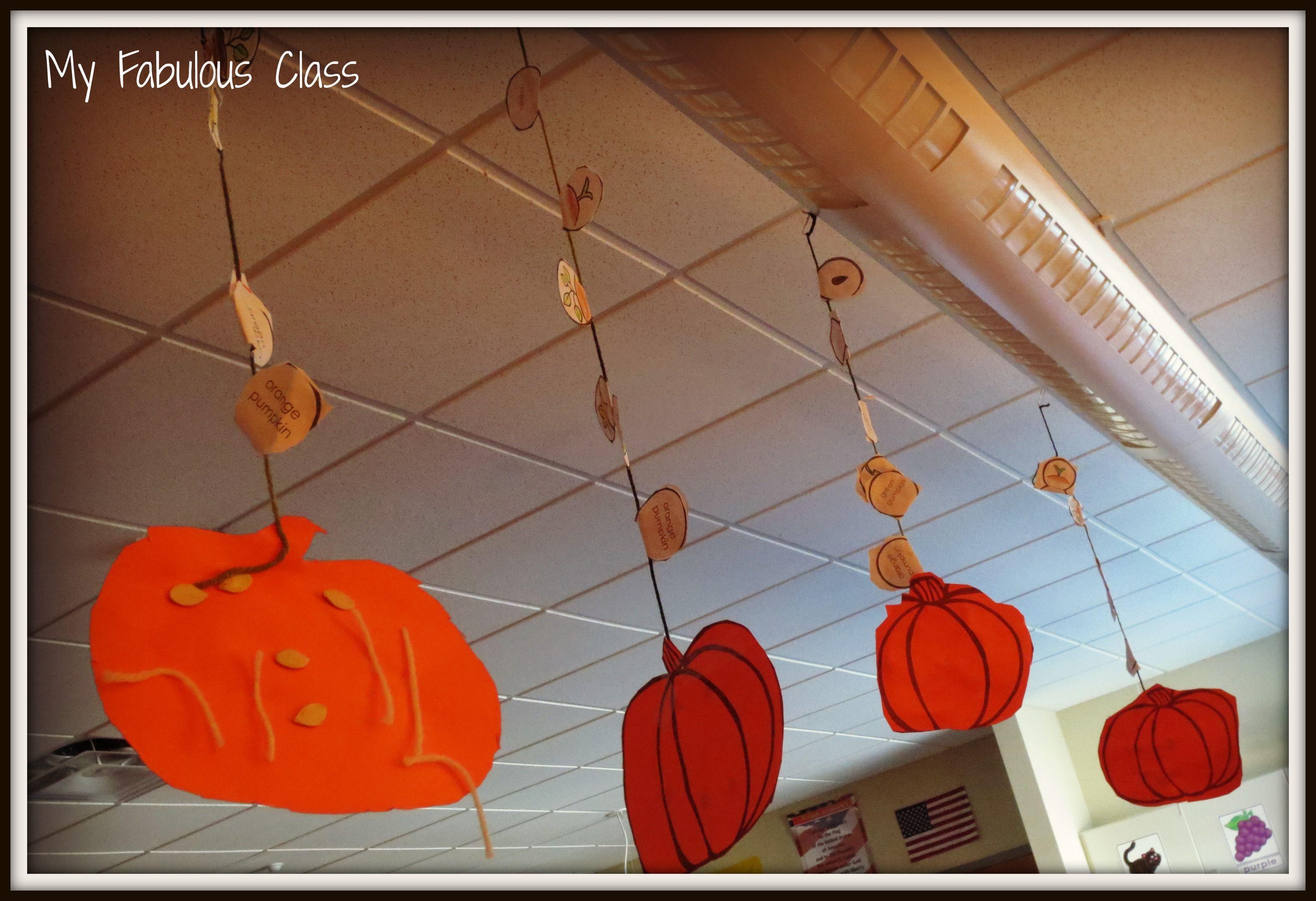Free Pumpkin Life Cycle Craft