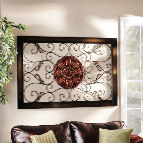 Metal Wall Plaque harper medallion metal wall plaque | metal walls
