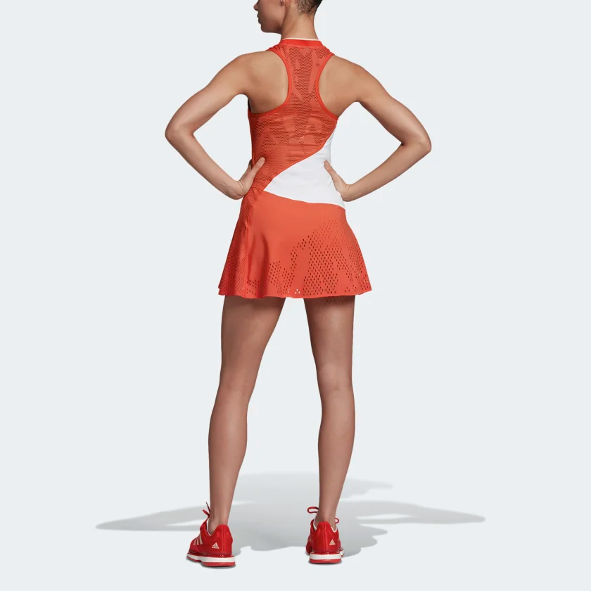 Adidas By Stella Mccartney Court Dress Red Adidas Us Stella Mccartney Adidas Court Dresses Lightweight Dress