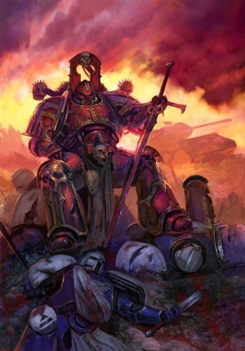 Warhammer 40K - Chaos Space Marine - Khorne