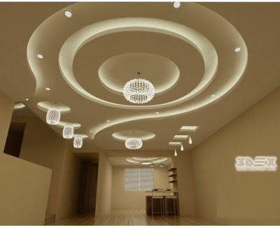 Latest Pop Design For False Ceiling Living Room Hall Roof 2018 Full