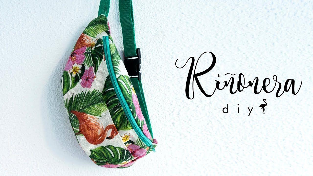 Riñonera DIY   Fanny Bag DIY - YouTube   costura   Pinterest ...