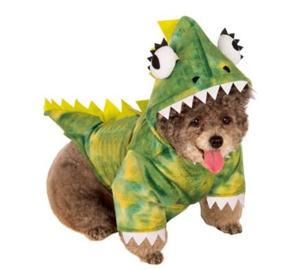 Dog Halloween Costume. Dinosaur, Lizard Dog Monster Costume. | Dog ...
