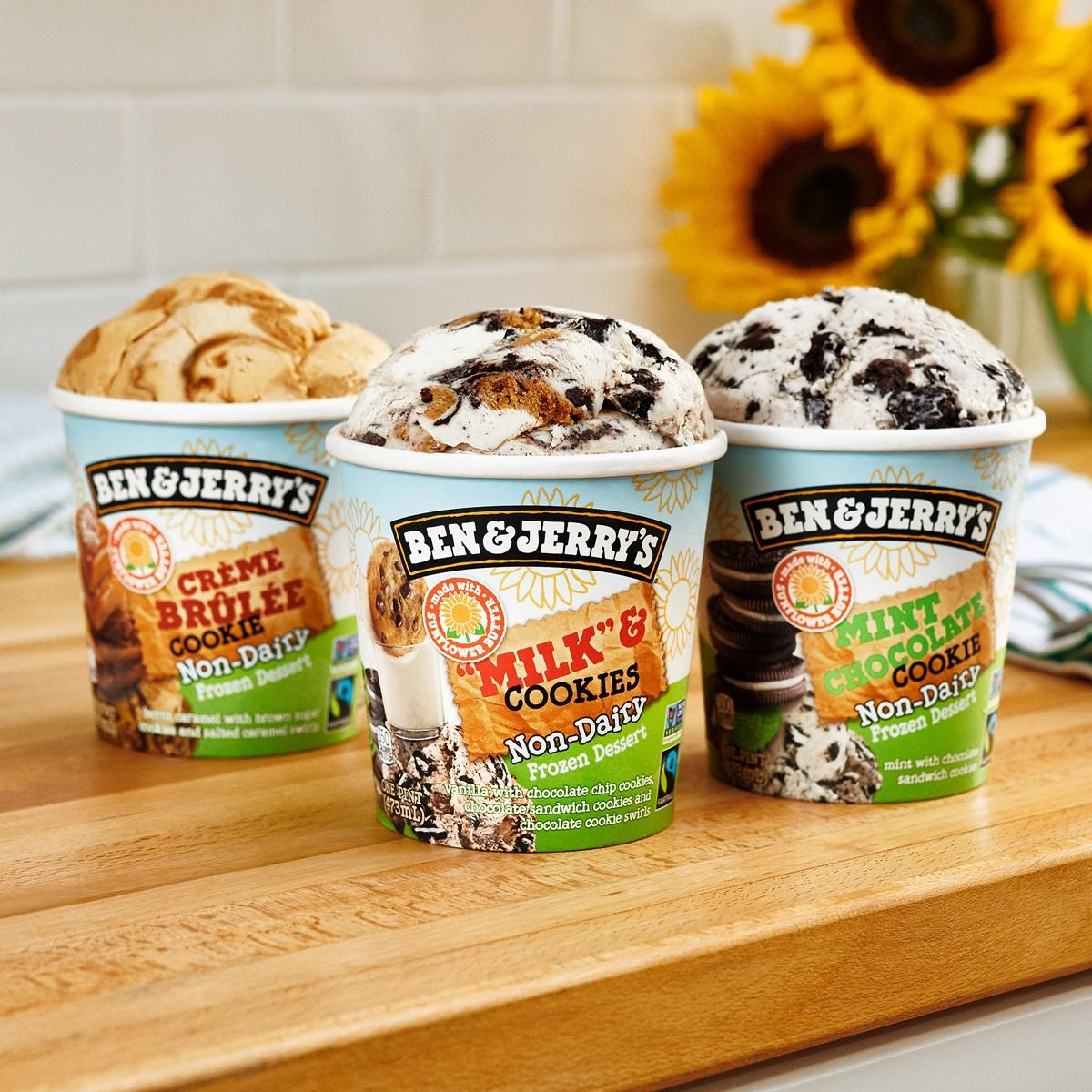 Ben Jerry S Brightens Our Day With 5 New Vegan Flavors And Mini Cups In 2020 Dairy Free Ice Cream Dairy Desserts Vegan Ice Cream