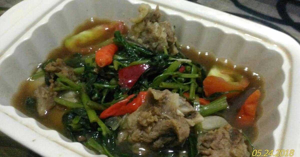 Resep Balungan Kangkung Kuah Tauco Oleh Yuni Chotimawati Resep Resep Masakan Indonesia Makanan Kangkung
