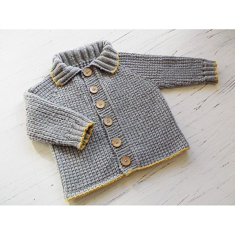 bc994270f Baby toddlers seamless top down Fisherman s Rib Jacket Knitting pattern by OGE  Knitwear Designs