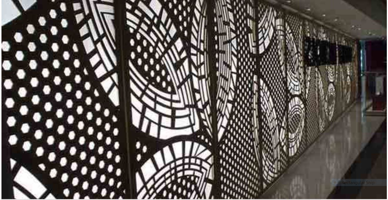 Keenhai Exterior Decorative Aluminum Wall Cladding Facade Kh Bh