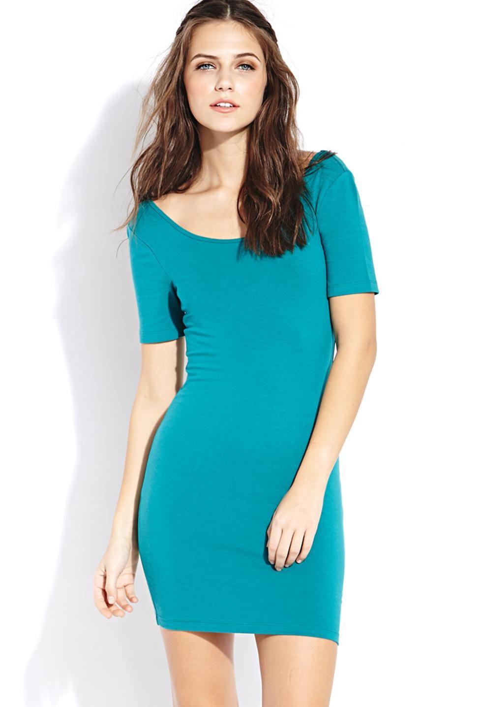 Petite Gemma Low Scoop Back Bodycon Dress | Bodycon Dresses ...