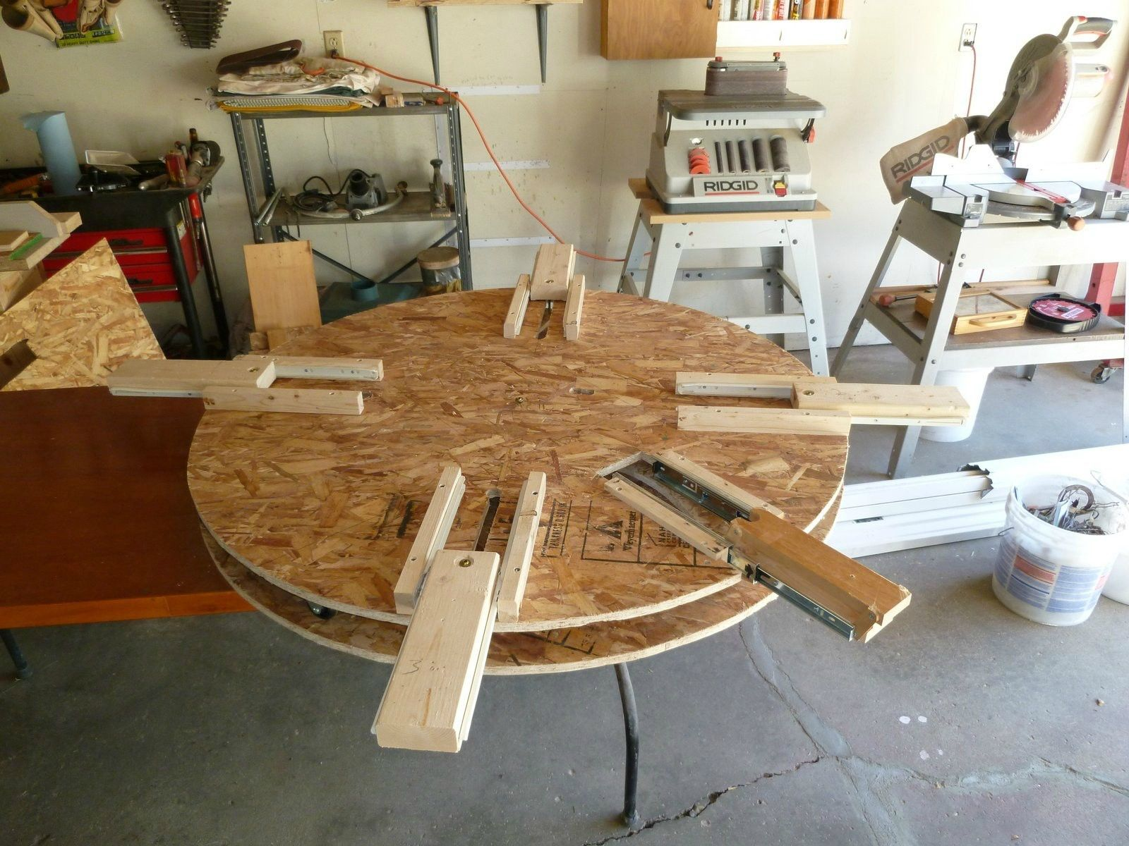 Wooden Expanding Table Table Wooden Diy Furniture