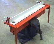 Sheet Metal Bending Brake Plans Shop 18in S Sheet Metal Bender Sheet Metal Metal Bending