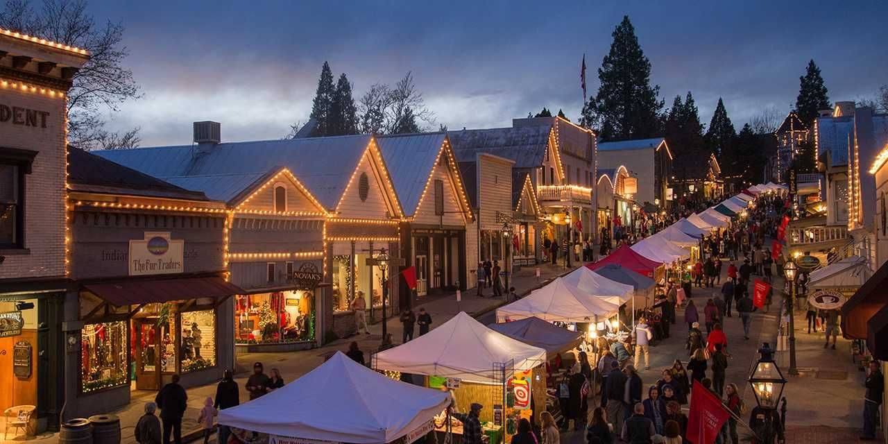 California towns with holiday spirit California towns