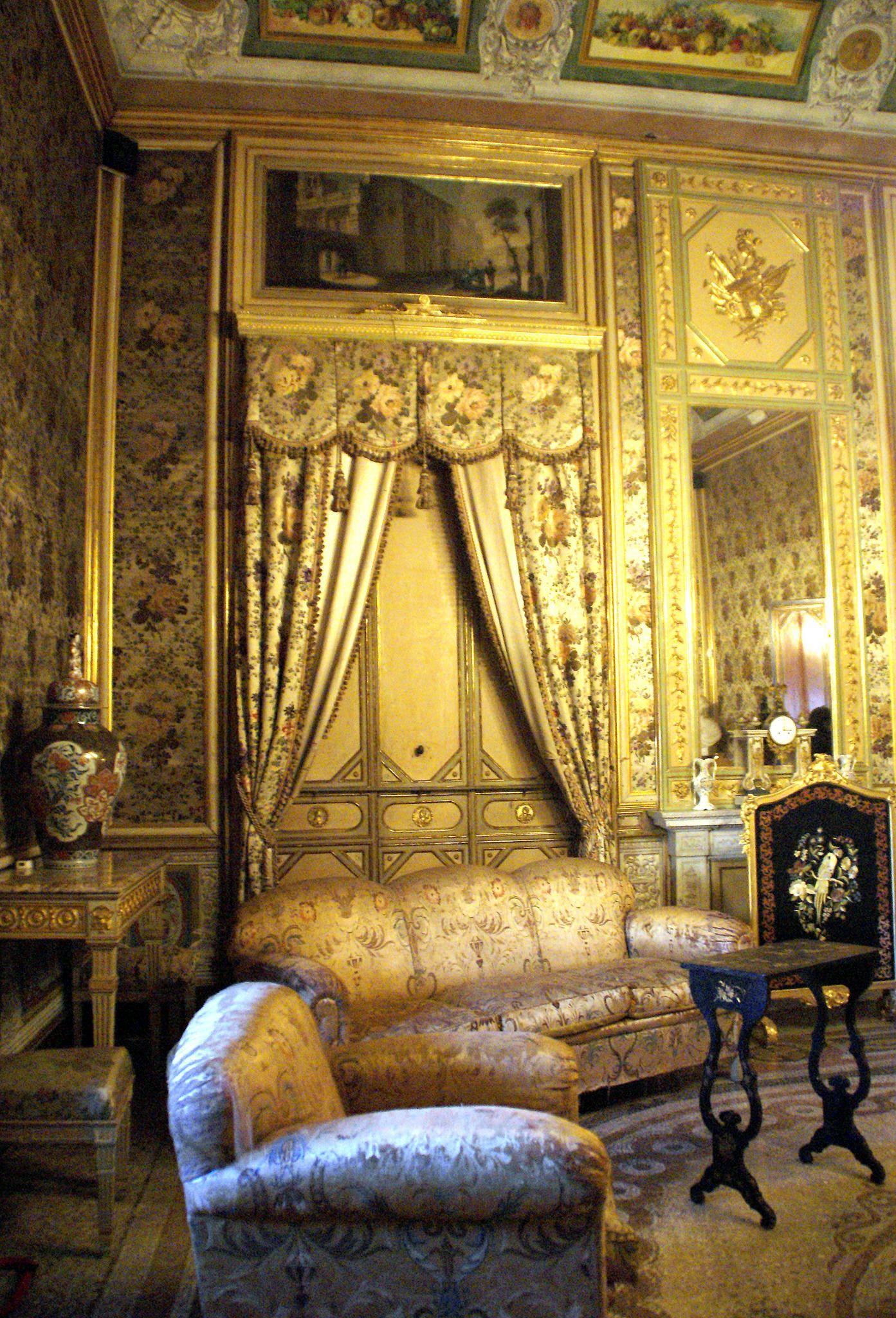 D Antoni Rattan A Castelvetrano.Palermo Via Merlo Palazzo Mirto Salon Cool Furniture